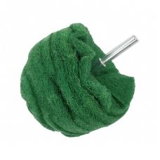 Abrazyvinis antgalis - rutulio formos- žalias - P 400 - 100 mm