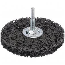 Abrazyvinis šlifavimo diskas juodas Ø 100mm.