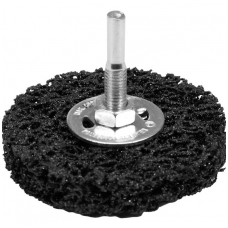 Abrazyvinis šlifavimo diskas juodas Ø 75mm.