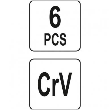 Adapterių rinkinys - 6 vnt. 5