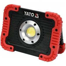 Akumuliatorinis šviesos diodų prožektorius 10W 800lm