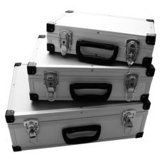 Aliuminių lagaminų rinkinys 3 vnt.