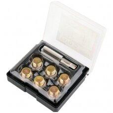 Alyvos išleidimo srauto remonto komplektas M17 x 1,5mm.