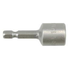 """Antgalis -galvutė magnetinė CR-V, 1/4"""" 12x48 mm"""