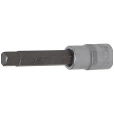 "Antgalis įpresuotas į galvutę ilgis 100mm. 12,5mm. (1/2"") hex šešiakampis 11mm."