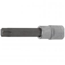 "Antgalis įpresuotas į galvutę ilgis 100mm.12,5 mm (1/2"") T-star (Torx) T60"