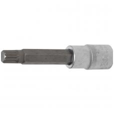 "Antgalis įpresuotas į galvutę ilgis 100mm.12,5mm (1/2"") Spline (XZN) M12"