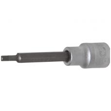 "Antgalis įpresuotas į galvutę ilgis 100mm.12,5mm (1/2"") Spline (XZN) M5"