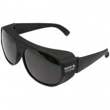 Apsauginiai akiniai žalsvi