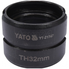 Atsarginis indėklas TH 32 mm presavimo replėms YT-21735