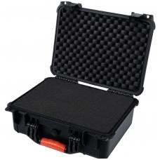 Atsparus smūgiams, hermetiškas lagaminas 406x330x174 mm