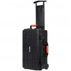 Atsparus smūgiams, hermetiškas lagaminas su ratukais 559х351х229 mm