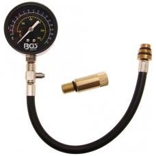 Benzininis kompresijos matuoklis su adapteriais M14 + M18