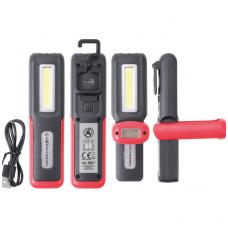 COB-LED darbinė rankinė lempa