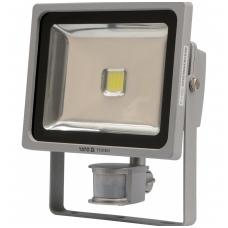 COB LED lempa su judesio davikliu 30W su diodu, 2100LM