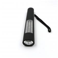 Darbo lempa plona 28+1 LED, su magnetu