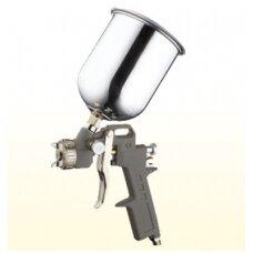Dažymo pistoletas 0.6l, Ø1.5mm, aliuminis bakelis