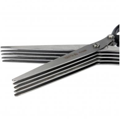 Daugiasluoksnės virtuvinės žirklės 2CR13 2