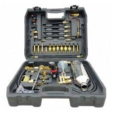 Degalų įpurškimo testeris ir purkštukų valymo įrankių rinkinys