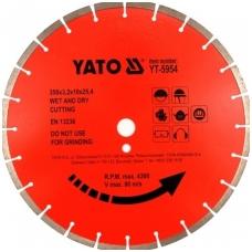 Deimantinis pjovimo diskas betonui, klinkeriui 300x25.4 mm