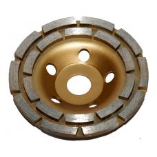 Deimantinis šlifavimo diskas lėkštės tipo 125mm X 22.23, dviejų eilių