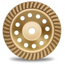 Deimantinis šlifavimo diskas lėkštės tipo 180mm X 22.23 turbo