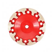 Deimantinis šlifavimo diskas T-formos eilė, 125mm, M14