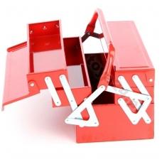 Dėžė įrankiams metalinė 400x210x190 mm. 5 sekcijos