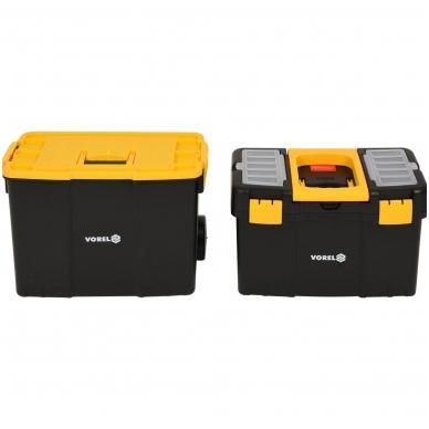 Dėžė įrankiams su ratukais -2-jų dalių 13
