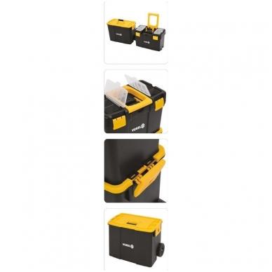 Dėžė įrankiams su ratukais -2-jų dalių 18