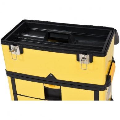 Dėžė įrankiams su ratukais - 3-jų dalių 8