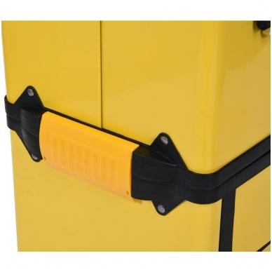 Dėžė įrankiams su ratukais - 3-jų dalių 9