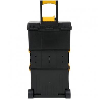 Dėžė įrankiams su ratukais- 3-jų dalių 5