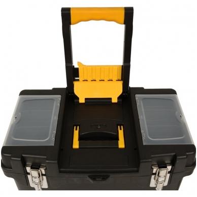 Dėžė įrankiams su ratukais- 3-jų dalių 8