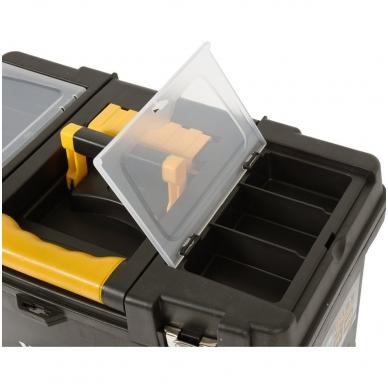 Dėžė įrankiams su ratukais- 3-jų dalių 9