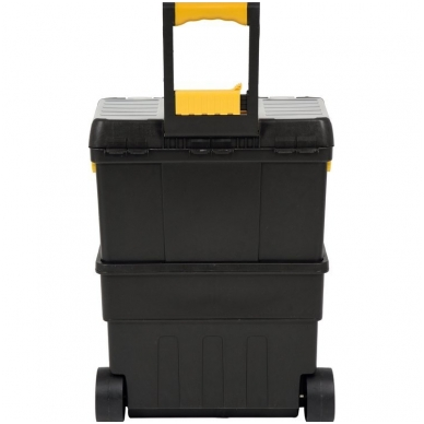 Dėžė įrankiams su ratukais - su išimamomis dėžutėmis 6