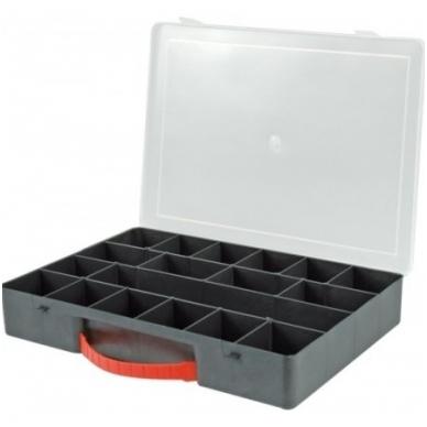 Dėžutė smulkiems daiktams 18 skyrių 36x25x5,5
