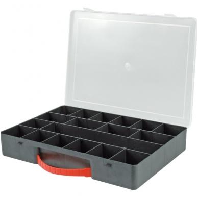 Dėžutė smulkiems daiktams 18 skyrių 36x25x5,5 2