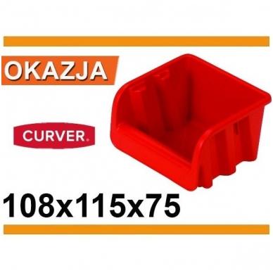 Dėžutė sandėliavimui 10,8x11x7,5 3