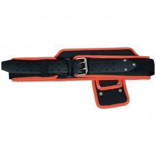Diržas įrankiams su plaktuko laikikliu ir įrankių kišenėms prisegti
