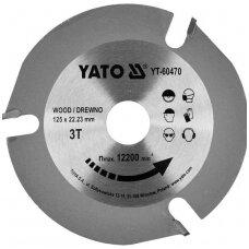 Diskas medžiui 125mm.  / 22 / 3T