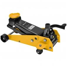 Domkratas su ratukais ir pedalu 3t 145-490 mm