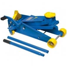 Domkratas su ratukais ir pedalu 3t 150-530 mm
