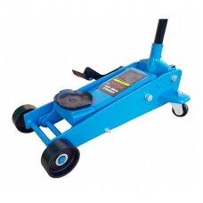 Domkratas su ratukais  su pedalu 138- 520mm., 3.5t.