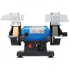 Elektrinis galąstuvas / šlifuoklis su lanksčiu daugiafunkciniu velenu 75x10x20mm.