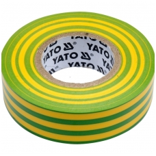 Izoliacija geltona-žalia 19mmx20mx0,13mm