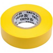 Izoliacija geltona 19mmx20mx0,13mm