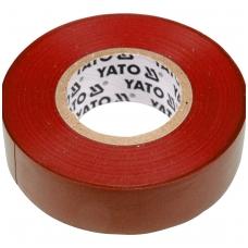 Elektros izoliacinė juosta raudona 19mmx20mx0,13mm