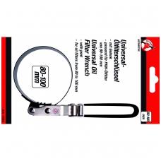 Filtro raktas juostinis vartomas 80-100 mm