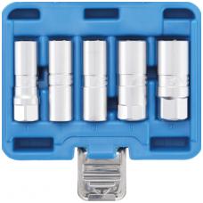 """Galvučių rinkinys žvakėms šešiakampės (1/2"""") 14 - 21mm. 5vnt."""